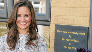 Miss Pippa Middleton at the Opening Ceremony of Murray House, Mary Hare School, Newbury