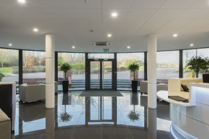 Arena Business Centre, Basingstoke - Front entrance internal reception