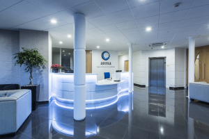 Arena Business Centre, Basingstoke - reception area