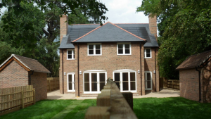 The Old Vicarage, Bransgore - Affordable Housing - Rear View, Gardens