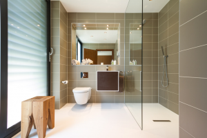 Mt Grace ensuite - Wall tiles Poole